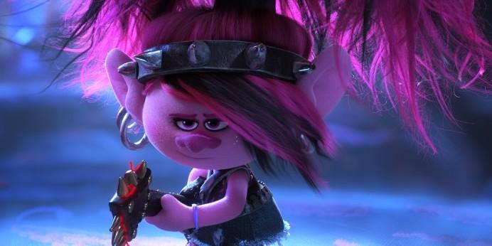 "Poppy (Anna Kendrick) in DreamWorks Animation's ""Trolls World Tour."""